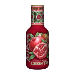 Холодный чай Arizona Pomegranate Green Tea 0,5л. пэт